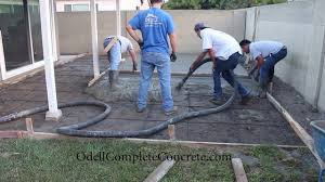 How Much To Concrete Backyard How To Setup A Backyard For A Patio Concrete Pour Start To Finish