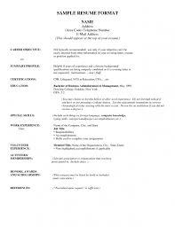 Lifeguard Resume Sample by Inspiring Resume Address Format 53 In Professional Resume Examples