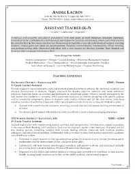 exle of teaching resume resumes how to write a resume with no experience assistant