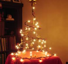 collapsible wire christmas tree 3 steps with pictures