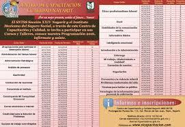 calendario imss 2016 das festivos oferta de capacitación 2016 centro de capacitación y calidad