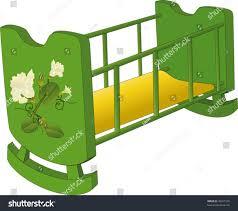 rocking crib stock vector 49911565 shutterstock