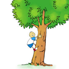 climbing a tree clipart boy and with no words on it