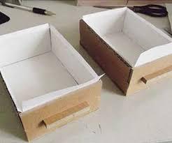 cara membuat lemari buku dari kardus bekas cara membuat rak mini sederhana dari kardus bekas sukacai