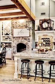Design For Farmhouse Renovation Ideas Kitchen Design Small Fireplace Brick Design Rustic Farmhouse