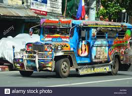 jeep philippine colorful jeepney in manila philippines stock photo royalty free