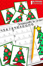 the printable princess christmas literacy and math activities for