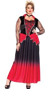 plus size masquerade dresses halloween clothing for large ladies