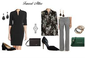 lets talks about what to wear to a funeral or memorial service