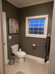 bathroom 2017 marvelous simple guest bathroom with dark gray