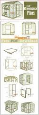 greenhouse plans 8 u0027x8 u0027 pdf download greenhouse plans