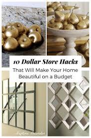 Dollarama Home Decor Best 25 Dollar Store Hacks Ideas On Pinterest Dollar Store