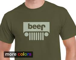 jeep clothing malaysia funny jeep beer parody mens t shirt tee
