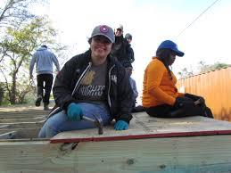 ucf volunteers on winter break new orleans area habitat for humanity