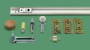 bi folding closet door track and hardware kit
