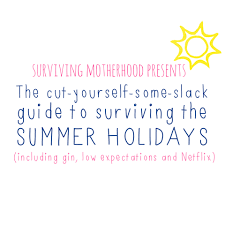 the cut yourself some slack guide to surviving the summer holidays