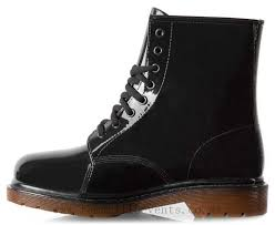 s boots nz gummie boots s two tone combat boot black gum 1955349