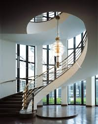 ig metall building berlin staircase and light fixture 1930 by