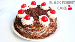 cake how to black forest cake how to make black forest cake sandhya s recipes