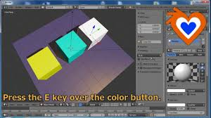 blender 2 7 features color picker youtube