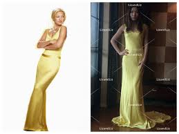 Canary Yellow Dresses For Weddings Kate Hudson Yellow Dress How To Lose A Guy In 10 Days