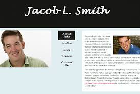 Resume Website Examples by Creating Your Own Online Portfolio Mr Young U0027s Website