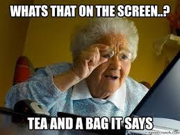 Tea Bag Meme - bag