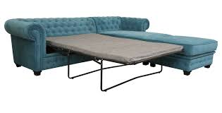 Fabric Chesterfield Sofa Bed Blue Chesterfield Sofa Bed Www Energywarden Net