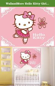 hello kitty wall decals etsy color the walls of your house hello kitty wall decals etsy hello kitty room decor on pinterest hello kitty rooms