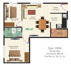 east meadows floor plan dhiraan newyork meadows in chandapura 2 bhk flats in dhiraan newyork