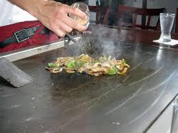 cuisiner au teppanyaki teppanyaki style cooking stock image image of cuisine 11114459