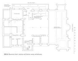 sjd 12 basement plan interior ramp jpg the church of st john the