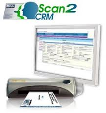 Business Card Reader Scanner Amazon Com Cssn Scan2crm Portable Business Card Scanner And