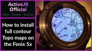 Garmin Canada Map by Garmin Fenix 5x Topo Contour Maps How To Install Contour Maps