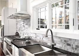 White And Black Kitchen Backsplashes Black And White Backsplash