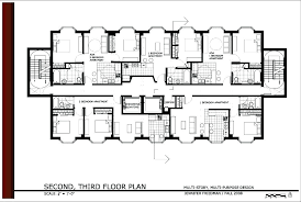 building floor plans 3 story apartment building plans attractive 3 story apartment