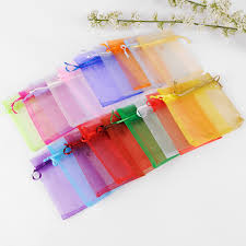 tulle bags 7x9cm organza jewelry popular gift bags cheap wedding gift bag