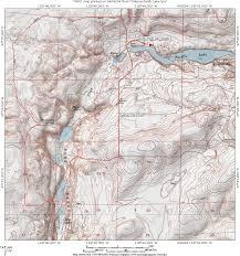 Map Of Lake Washington by Odessa Pacific Lake Trail Eastern Washington Trailsnw Com