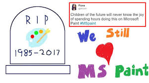 to kill or not to kill ms paint here u0027s what microsoft said after