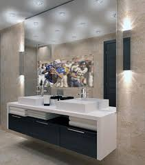 bathroom cabinets mirror with tv in it bathroom mirror with