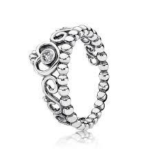 pandora rings cheap pandora princess tiara ring 190880cz