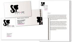 business card template for spa hair salon order custom