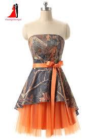 online get cheap orange bridesmaids dresses aliexpress com