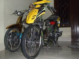 motorcycle honda vario racing look concept 2010