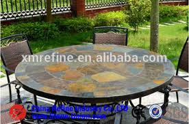 Mosaic Bistro Table Set Outdoor Slate Small Mosaic Bistro Coffee Table Sets Mosaic Slate