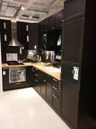 cuisine laqué noir meuble de cuisine noir laqu awesome city meuble sous vier l cm