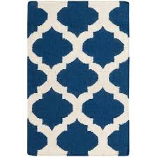 accent rug surya frontier royal blue accent rug 2 x 3 7101930 hsn
