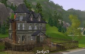 Addams Family Mansion Floor Plan My Sims 3 Blog Adams Family House By Jarkad