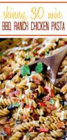 skinny santa fe bbq ranch chicken pasta carlsbad cravings