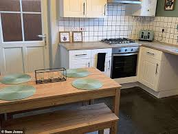 painting kitchen cabinets frenchic savvy diy fan gives tired kitchen a stylish modern